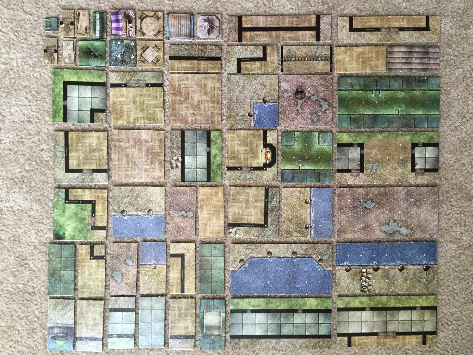 How To Organize Your D&D Dungeon Tiles | PhD20